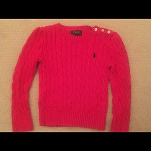 Toddler polo sweater 4T